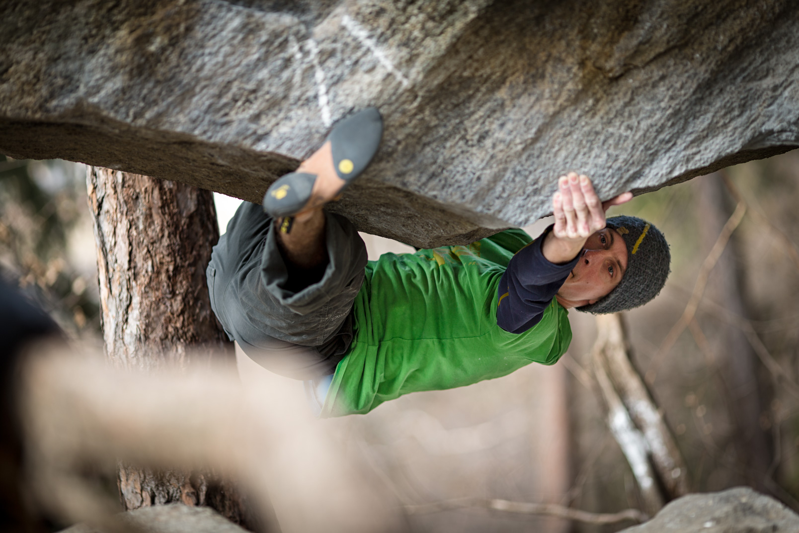 Compression | Stefan Kuerzi - Climbing Photography