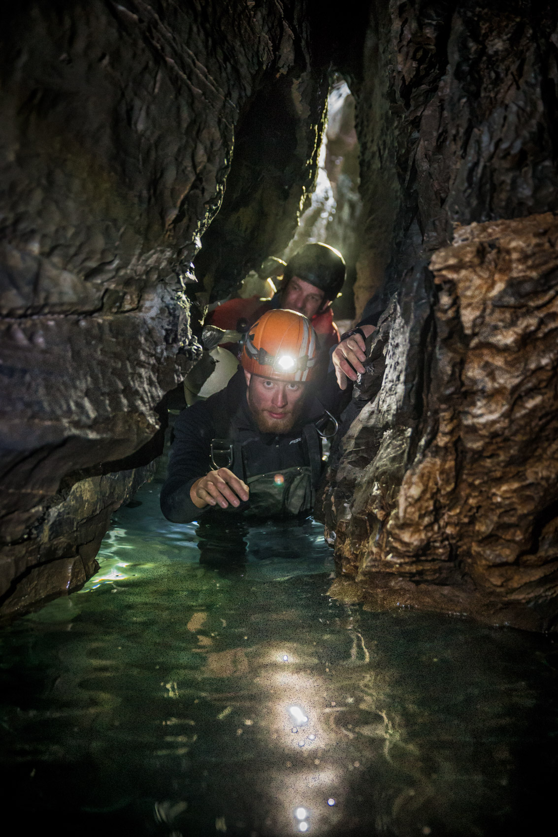 Caving | Stefan Kuerzi - Adventure Photography