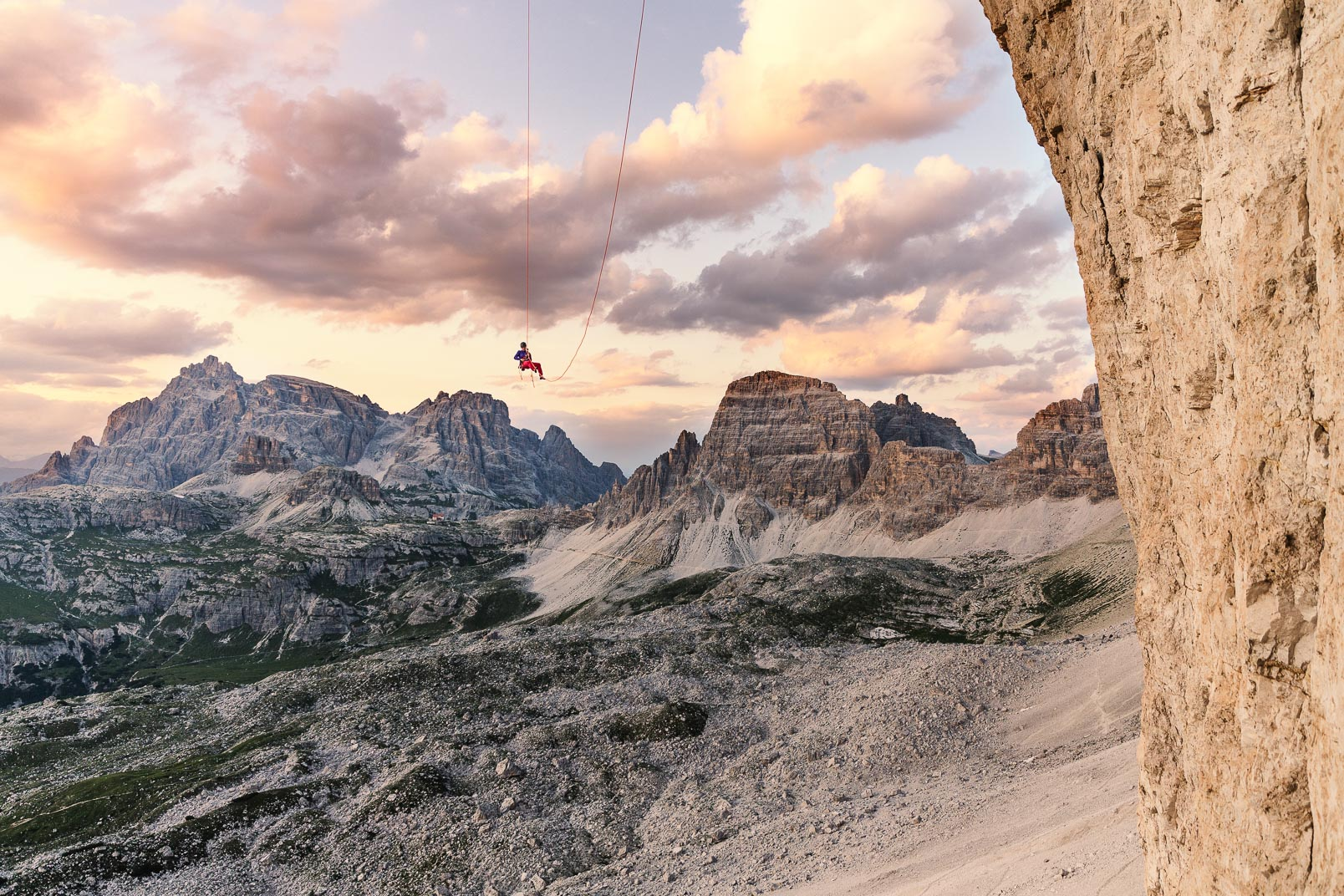 Coming home | Stefan Kuerzi Climbing Photography