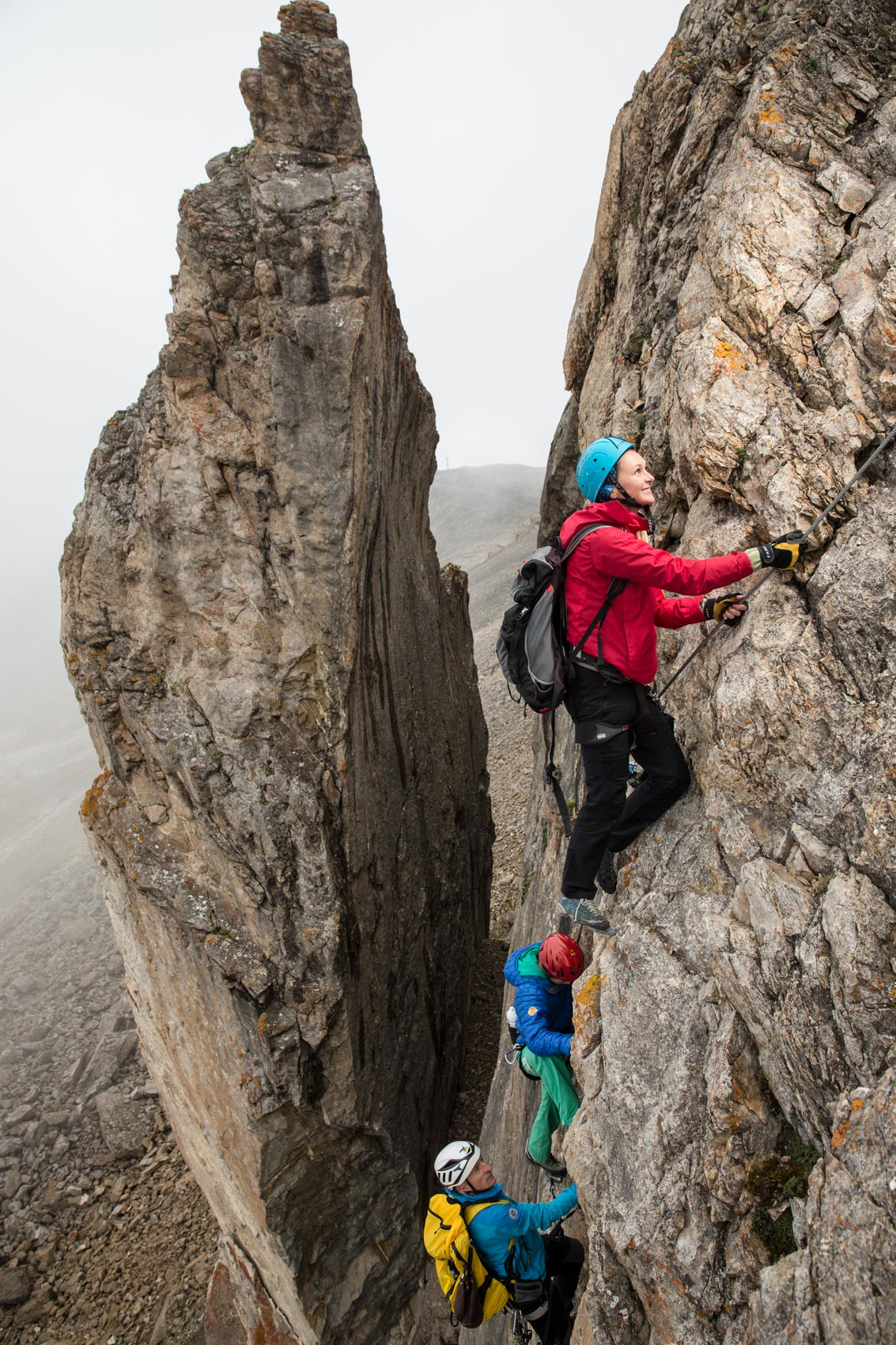 Via Ferrata  | Stefan Kuerzi - Lifestyle Photography