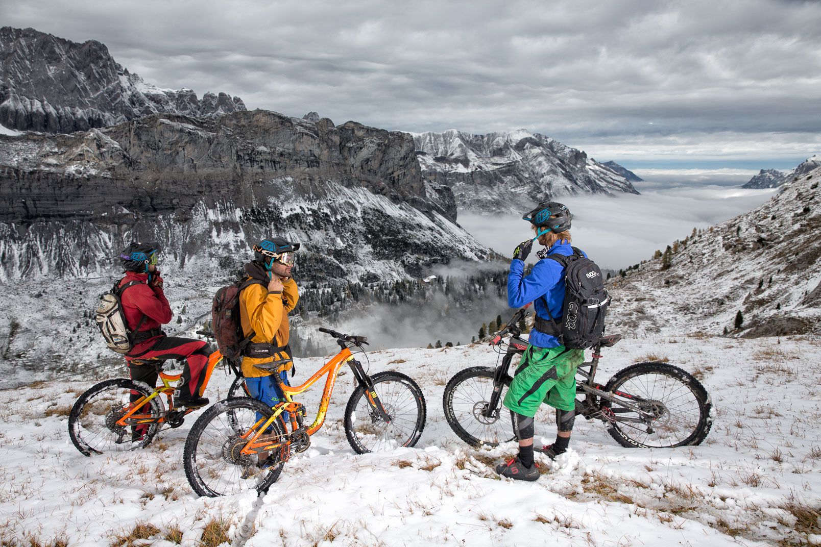 Late Fall Alpine MTB | Stefan Kuerzi - Adventure Photography