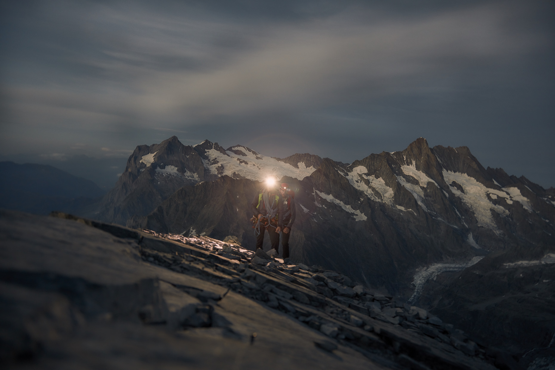 Dawn in the mountains | Stefan Kuerzi - Adventure Photography